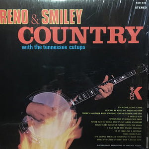 RENO & SMILEY - 'A Variety Of Country Songs' - LP