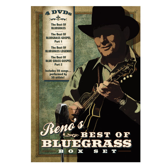 VARIOUS ARTISTS 'Reno's Best of Bluegrass'   MANDO-400-4DVD