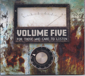 VOLUME FIVE 'For Those Who Care to Listen' MFR-191025-CD
