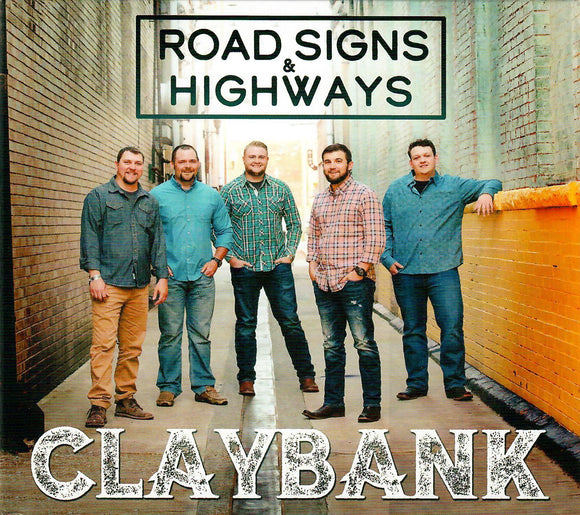 CLAYBANK 'Road Signs and Highways'  MFR-190800-CD