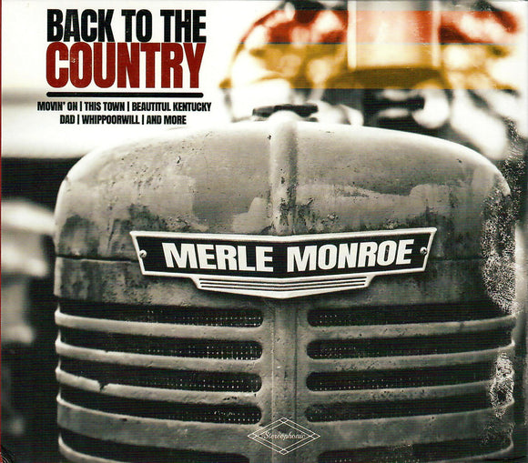 MERLE MONROE 'Back to the Country'  PRC-1231-CD