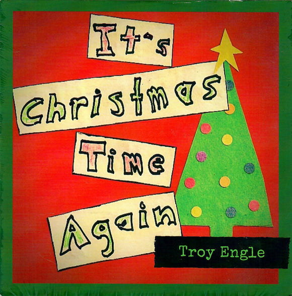 TROY ENGLE 'It's Christmas Time Again'  RGM-209-CD