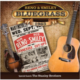 RENO & SMILEY 'Bluegrass 1963' MANDO-2208- CD/DVD