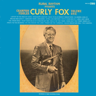 CURLY FOX 'Champion Fiddler Volume One'