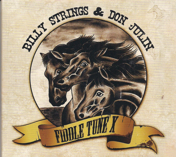 BILLY STRINGS & DON JULIN 'Fiddle Tune X' STR-40765-CD