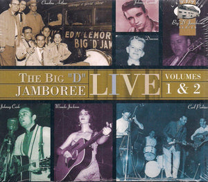 "THE BIG ""D"" JAMBOREE 'Live, Volumes 1 & 2'  DCD-70100"