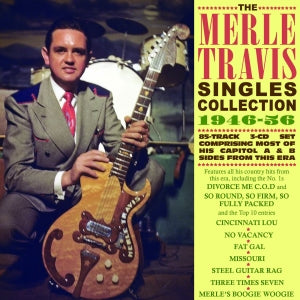 MERLE TRAVIS 'Singles Collection 1946-56' (3CDs) ACTR-9096-CD