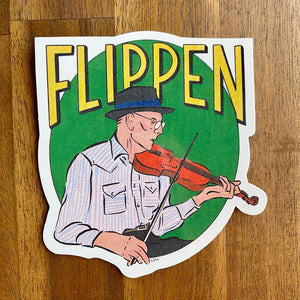 Benton Flippen Sticker