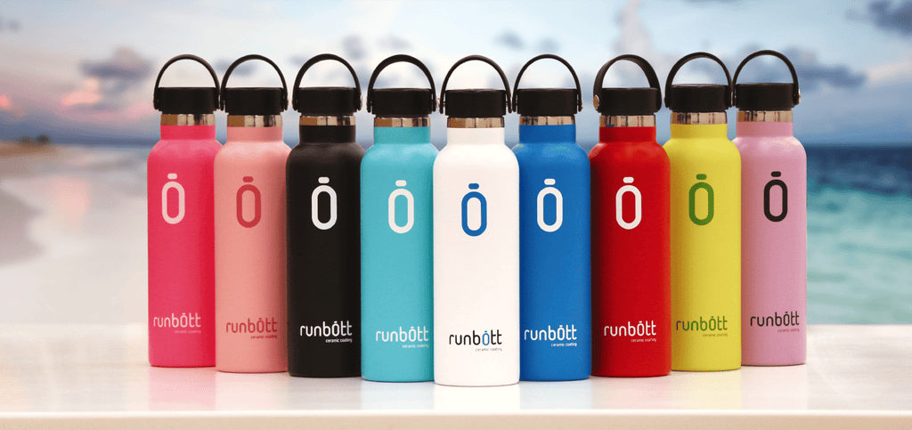 Runbott 600ml Reusable Water Bottle