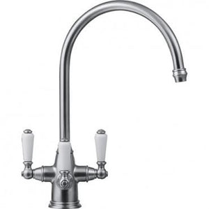 Corintian Franke 3 Way Filterflow Tap Silk Steel
