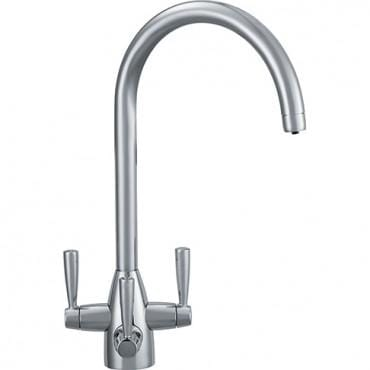 Doric Franke 3 Way Filterflow Tap Silk Steel