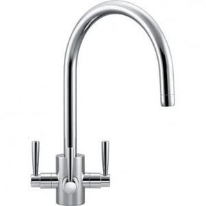 Olympus Franke 3 Way Filterflow Tap Chrome