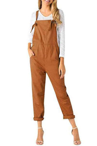 Loose Casual Wild Large Size Jumpsuit