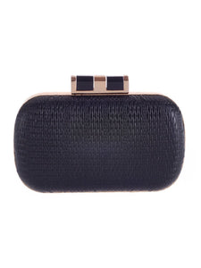 Embossed Pu Evening Clutch Bag