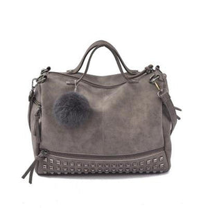 Large Rivet Women Bag