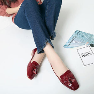 Casual Pure Color Flat Shoes