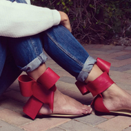 Casual Bowknot Daily Flat Heel Sandals