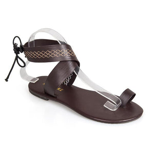 Gladiator Casual PU Flat Heel Daily Sandals