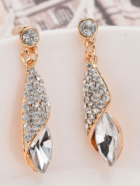 Glass Shinning Women Earrings