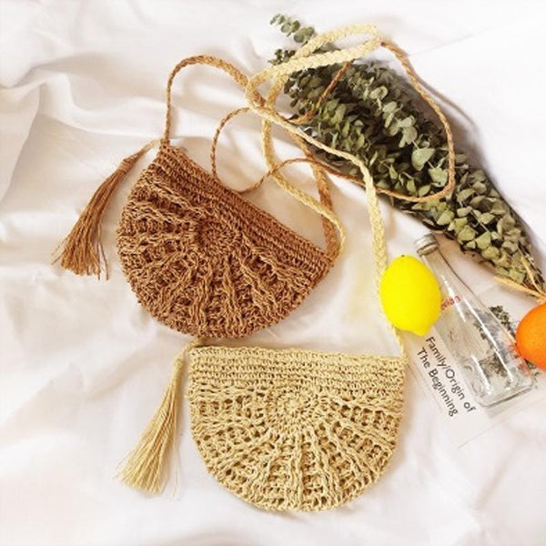 Tassel Beach Shoulder Bag