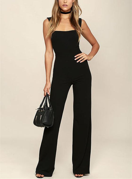 Sexuality Square Collar Trim Body With Horn Trousers