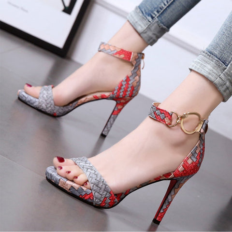Stiletto Platform High Heels Sandals