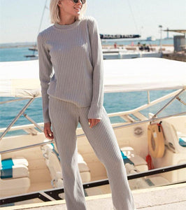 Fashion Pop Personality Casual Wool Pit Trousers Suit