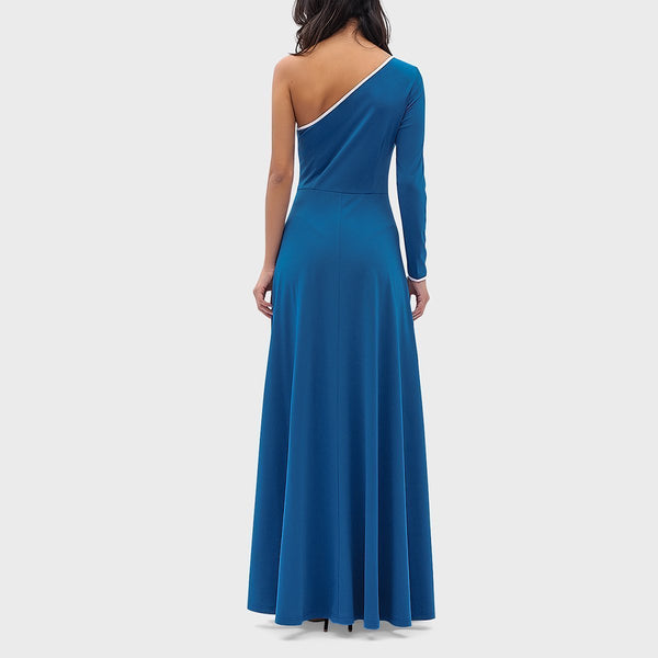 Sexy Cold Shoulder Bodycon Split Evening Dress