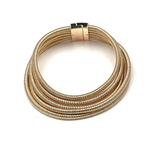 Layers Metal Choker Necklace