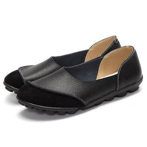 Literary Leather Nubuck Leather Flat With Soft Leather Women's Shoes Flats Loafers