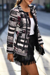 Fashion Casaual Printed Jacket