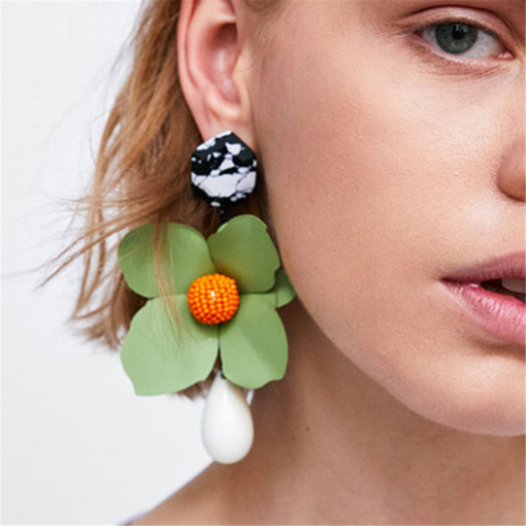 Fashion Creative Floral Casual Earrings