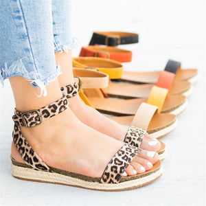 Fashion Versatile Simple Flat Sandals