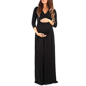 Pregnant Women Loose Dress Maternity Dress