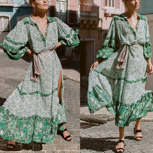 Women's Summer Bohemian Long Maxi Dress