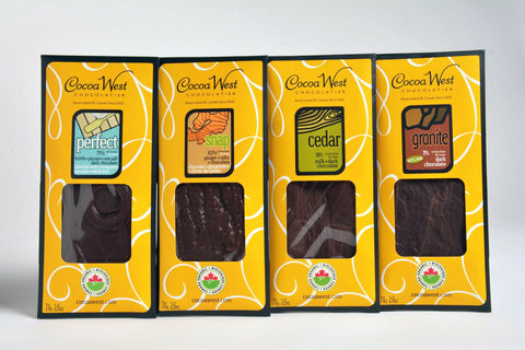 Chocolate bar collection from Coca West