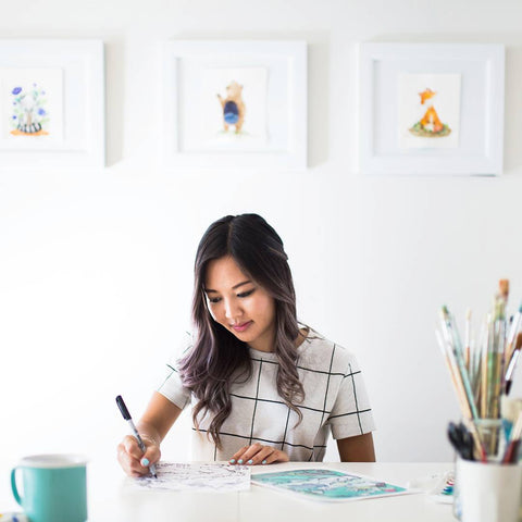 Greeting Card Artist Laura Uy