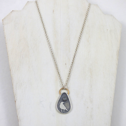Coastal Karma Jewels- Necklace - Raven