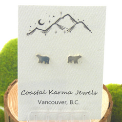 Coastal Karma Jewels- Earrings - Bear