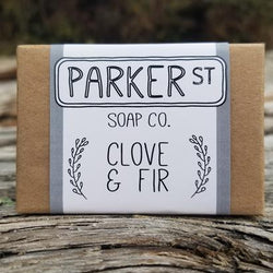 Parker St Soap Co- Soap Bar – Clove & Fir