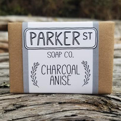 Parker St Soap Co- Soap Bar – Charcoal Anise