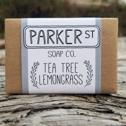 Parker St Soap Co- Soap Bar – Tea Tree Lemongrass