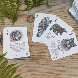 Anja Jane – Playing Cards – A Deck of Wander: Spectacular Hikes Around Southern BC