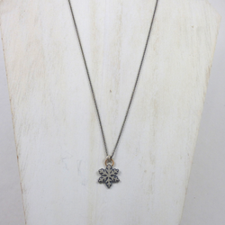 Coastal Karma Jewels- Necklace - Snowflake ll