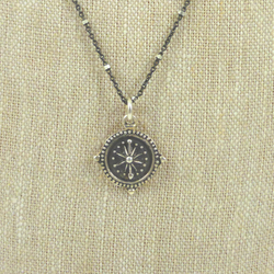 Red Bug Bijoux - Necklace - Compass