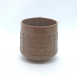 Needle + Fern - Latte Mug - Rectangular Deco Stamp