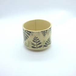 Needle + Fern - Latte Tumbler - Forest Floor