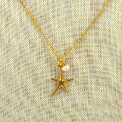 Red Bug Bijoux - Necklace - Starfish