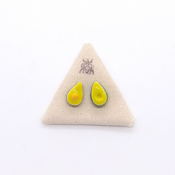 Three Little Spruce- Earrings - Avocado Studs