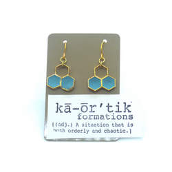 Ka-or'tik- Earrings– Honeycomb